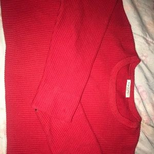 Margaret Winters Red Sweater